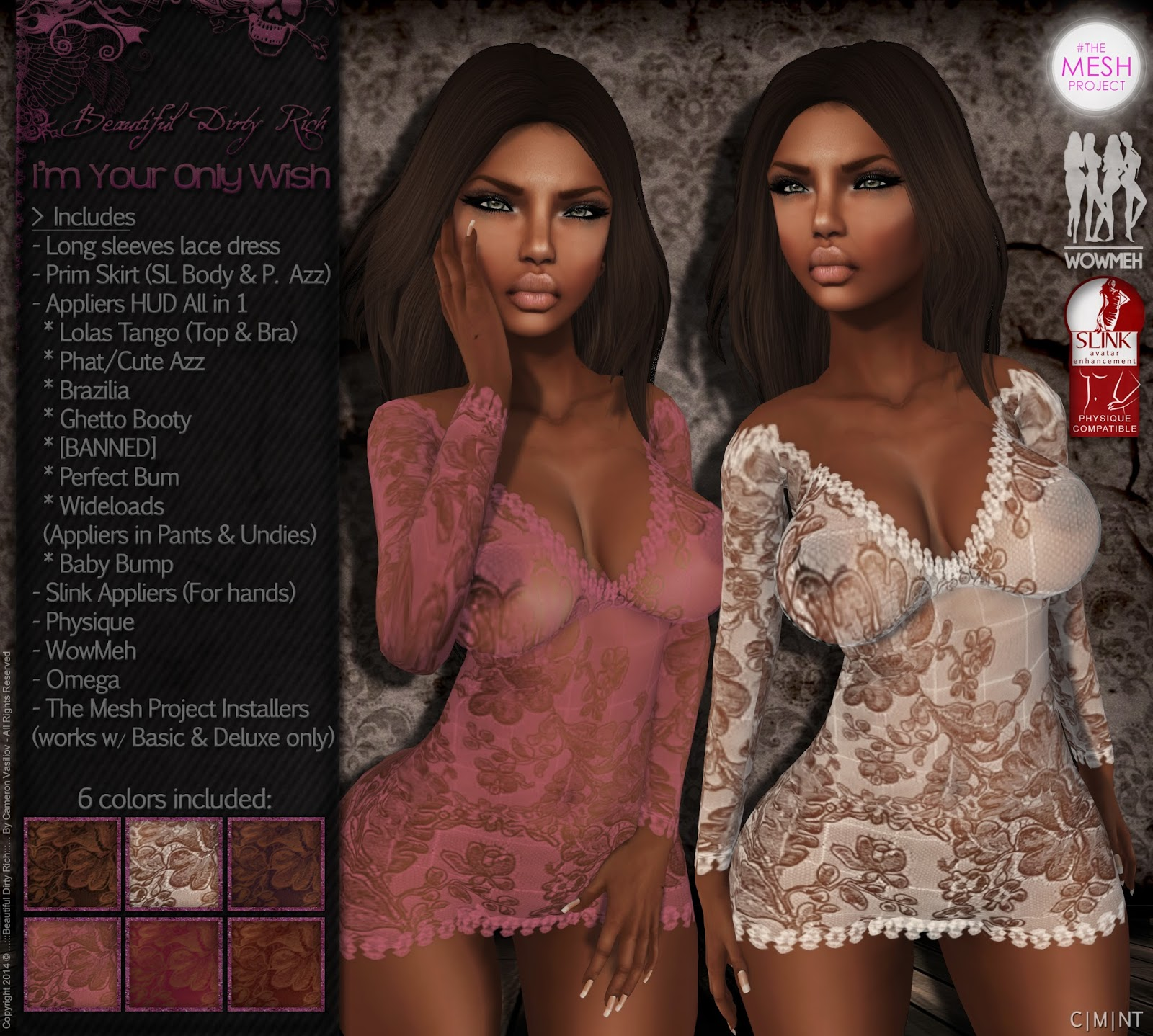 https://marketplace.secondlife.com/p/BDR-Im-Your-Only-Wish-APPLIERS-UPDATE-Azz-Omega-WowMeh-Physique-and-TheMeshProject/4525259