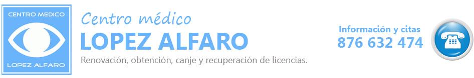 Reconocimientos médicos en Zaragoza - Centro médico López Alfaro