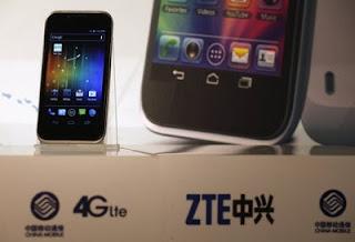 中国ZTEアメリカ華為と中興通訊製品を政府機関で利用しない
