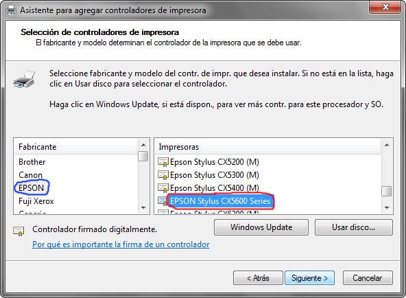 Cx5600 Epson Driver Windows 7