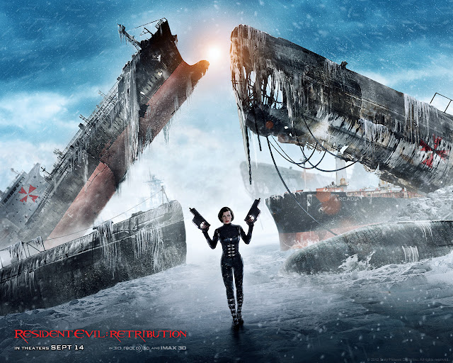 Resident Evil: Retribution PowerPoint background 02