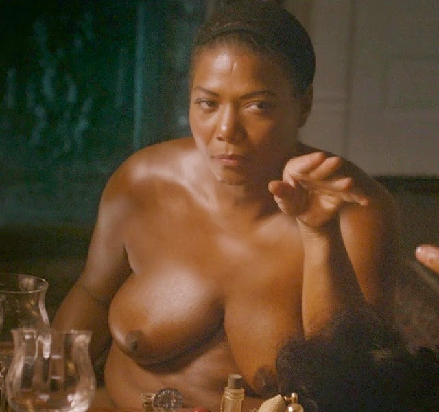 Queen Latifah en topless