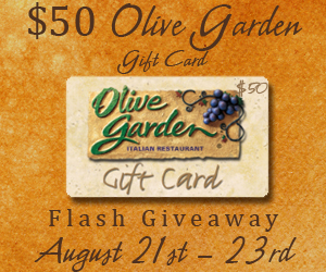 Krazy coupon club olive garden gift card giveaway for Olive garden gift card specials