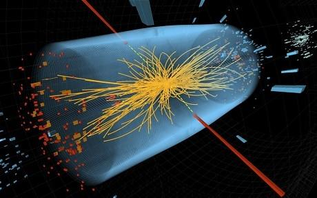 An animated representation of Higgs boson, the God Particle in Large Hadron Collider (Image credit: CERN)