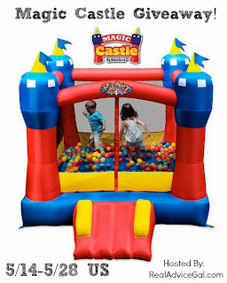 Enter the Magic Castle Bounce House Giveaway. Ends 5/28