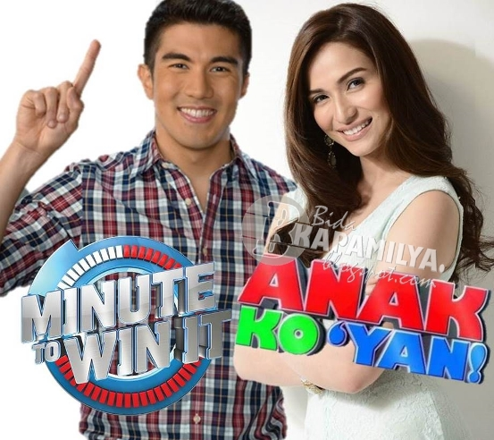 Luis Manzano versus Jennylyn Mercado in weekday mornings with Anak Ko Yan hosted by Jen clashing with Luis' Minute to Win It
