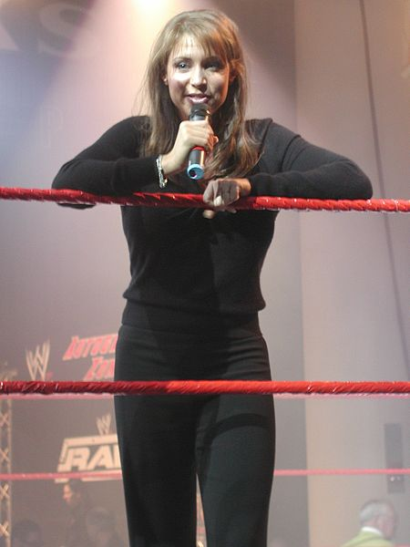 WWE Diva Stephanie McMahon