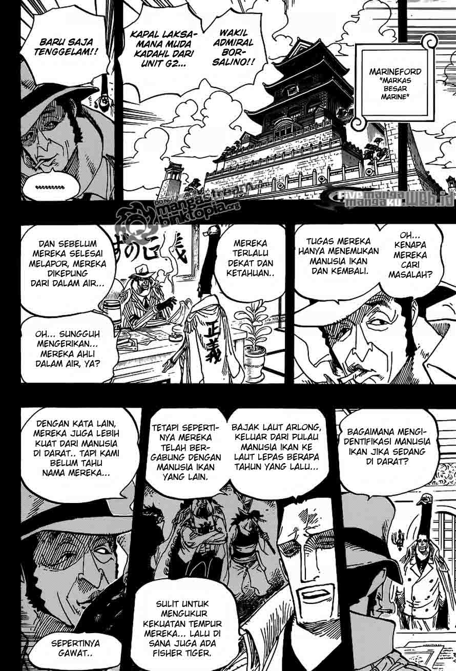 One Piece 622 page 10
