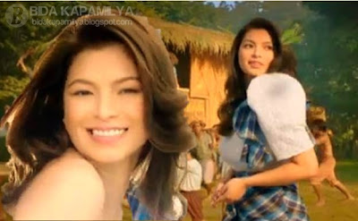 Angel Locsin in 'Makabagong Pilipina' Modess TVC with Lem Pelayo