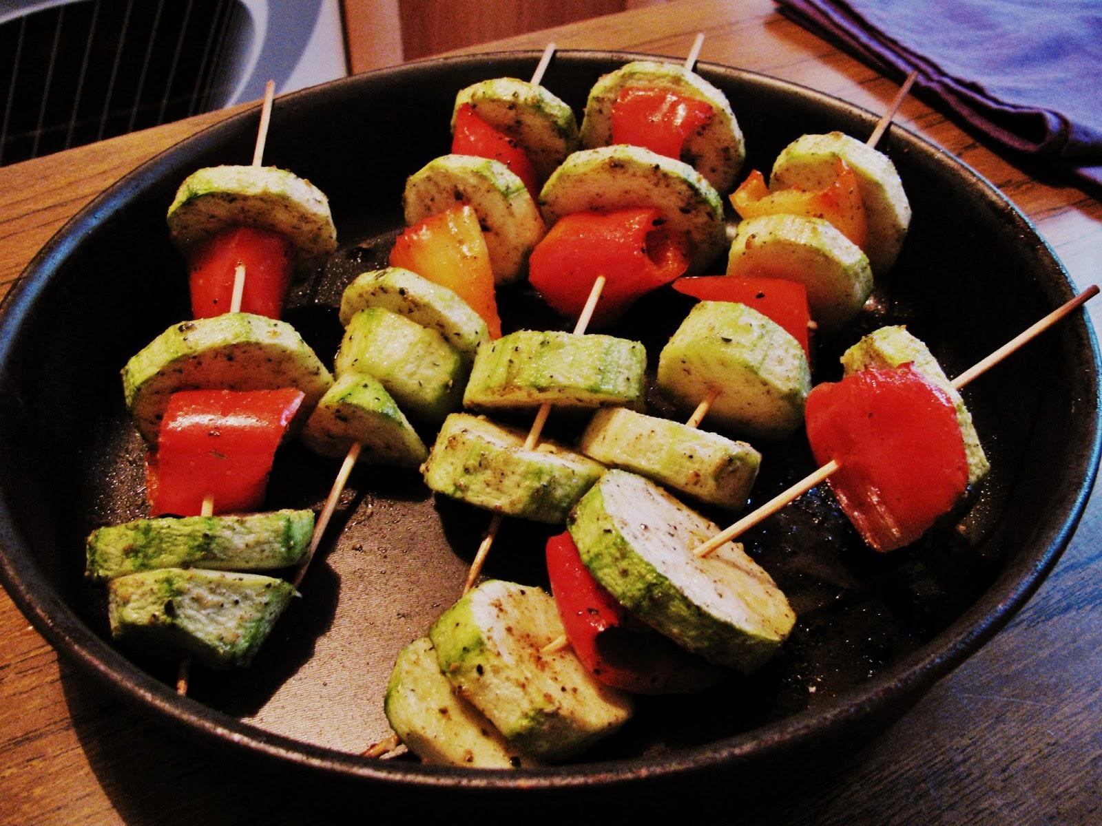 Пошаговый рецепт овощи гриль в духовке с грилем