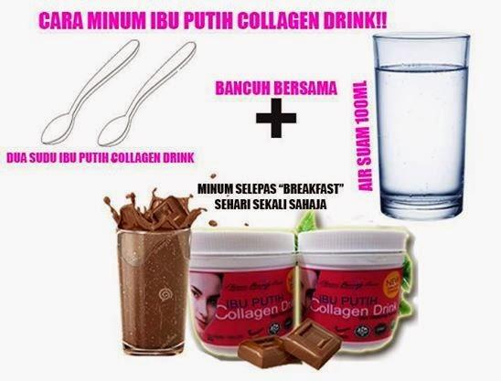 Ibu Putih Collagen Drink (IPCD) (end 1/4/2017 11:40:00 AM MYT)