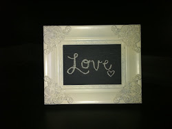 Ivory 5x7 Chalk Board **SOLD**