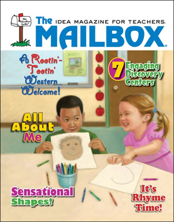 mailbox preschool magazine primary graffiti back to school with mailbox gold 348