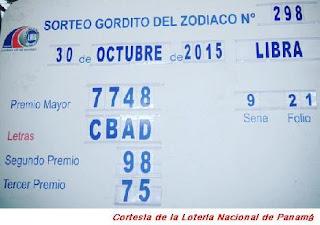 resultados-gordito-del-zodiaco-viernes-30-de-octubre-2015-loteria-nacional-de-panama
