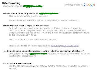 Cara Mengetahui Cek Blog Terinfeksi Malware