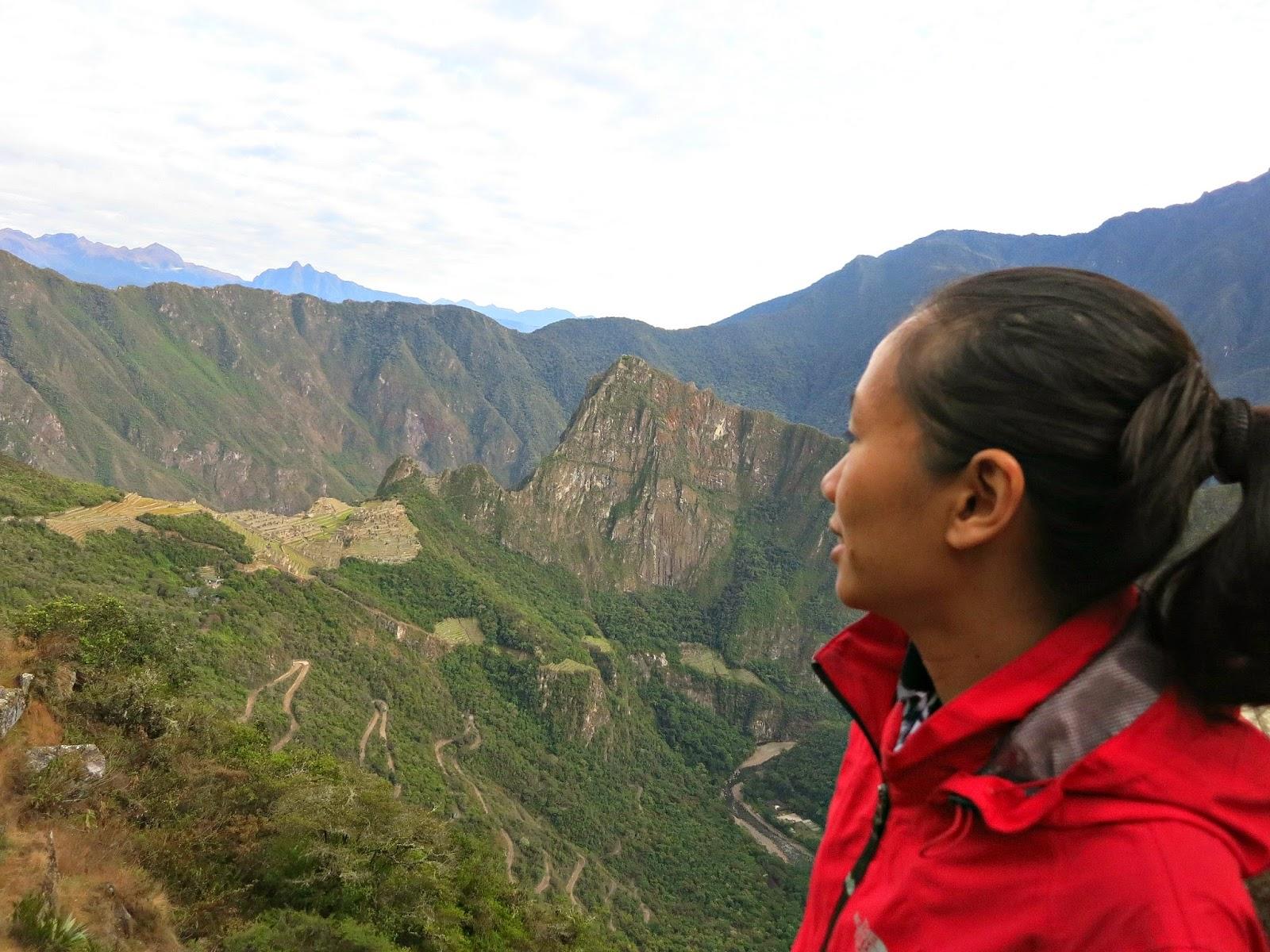 View of Machu Picchu from Inti Punku, Peru July 2014