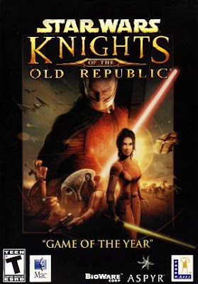 Star Wars Knights of The Old Republic Mac Game Cover
