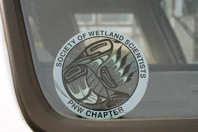 Society of Wetland Scientists PNW Chapter sticker