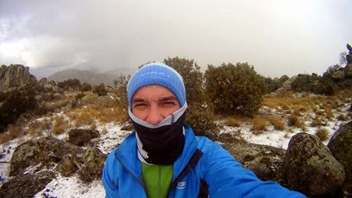 Trail running. Hoyo de Manzanares.