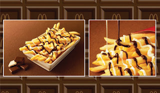McDonald's Chocolate Fries, McChoco Potato, fries