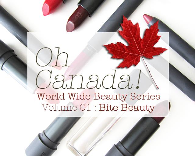 bite beauty, Canada Day, World Wide Beauty Series
