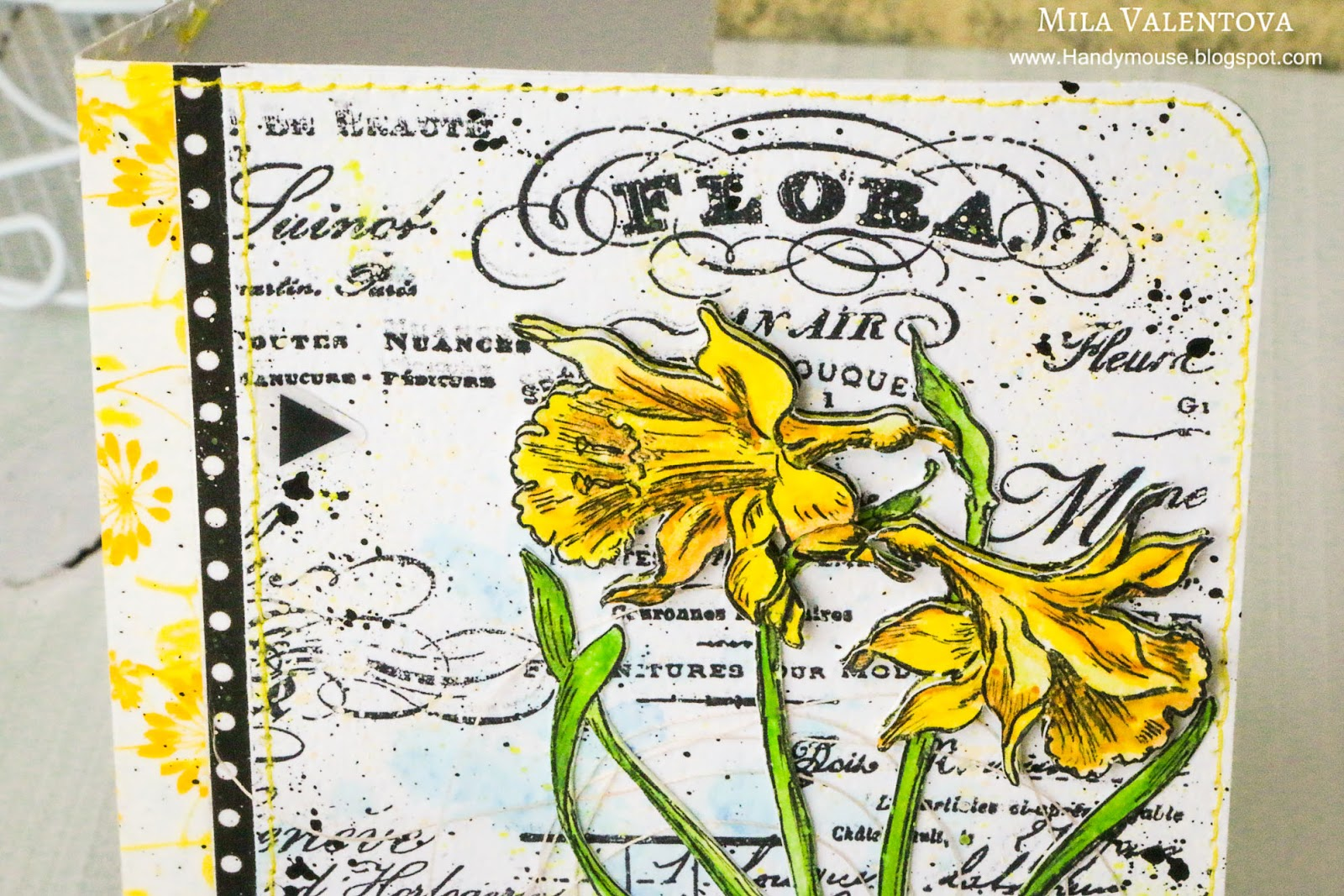 Обложка_для_паспорта_Нарциссы_Мила_Валентова_Скрапбукинг.