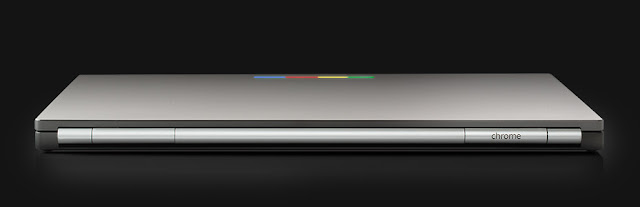 Anodized aluminum body of Chromebook Pixel