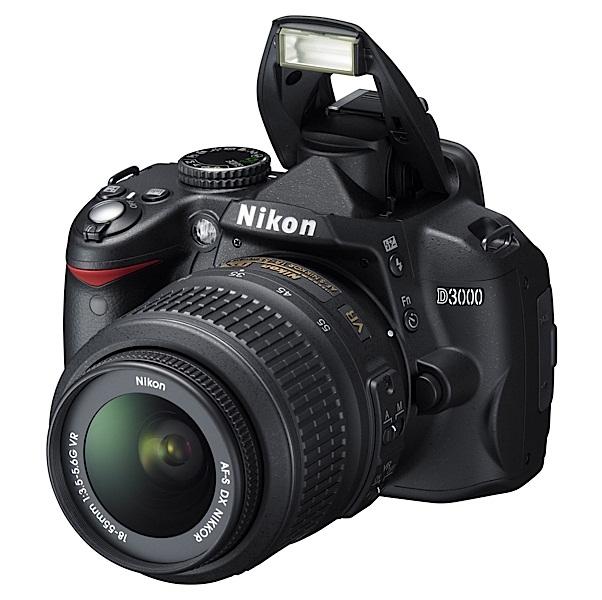 Kamera SLR Nikon D3000