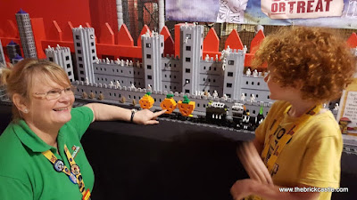 Creative Crew LEGO Halloween Ghost Train Manchester LEGOLAND Discovery Centre