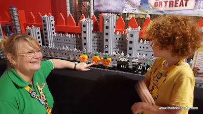 Creative Crew LEGO Halloween Ghost Train Manchester LEGOLAND Discovery Centre