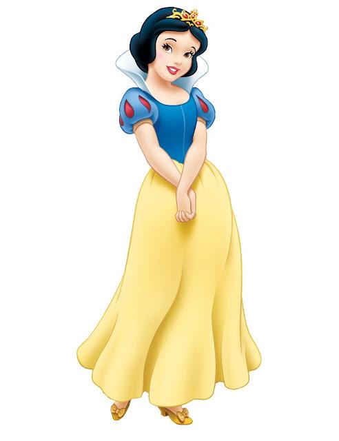Princesas Disney Branca de Neve desenho colorido