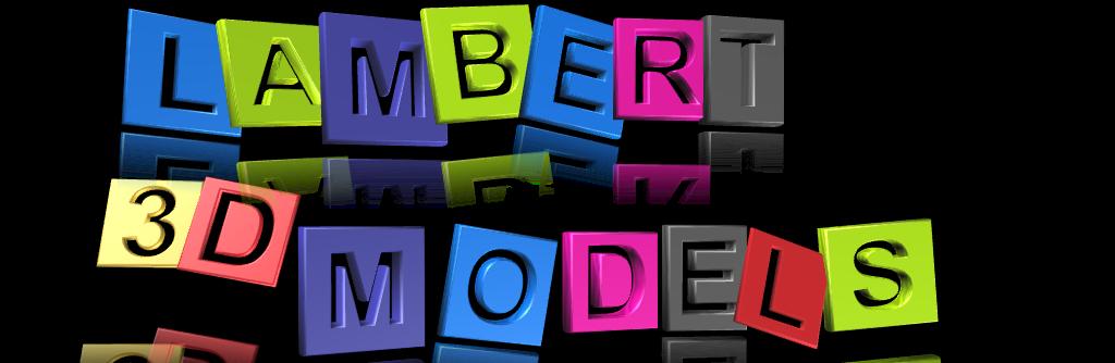 3D Models by Lambert Designer