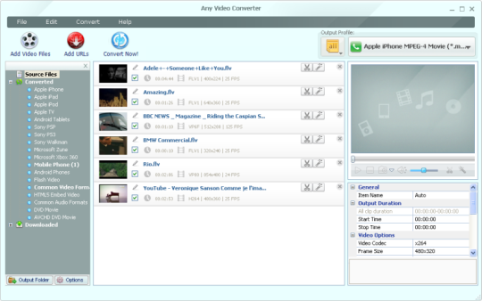 Any Video Converter 3.5.5 Free
