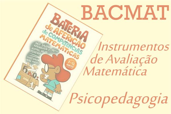 BACMAT - Bateria de Aferição de Competências Matemáticas