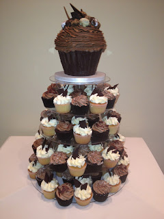 Vanilla Pod Bakery - Chocolate Cupcake Tower