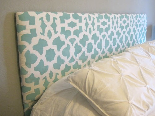 Stenciled - Upholstered Headboard