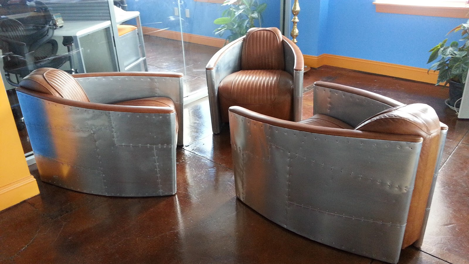Gentil Aviator Chairs