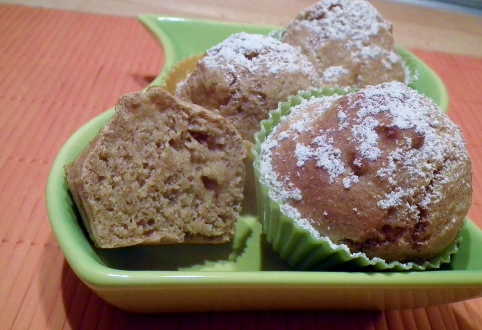 muffin veg al melone ( senza uova e senza grassi)