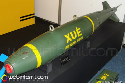 Bomba Colombia XUE indumil