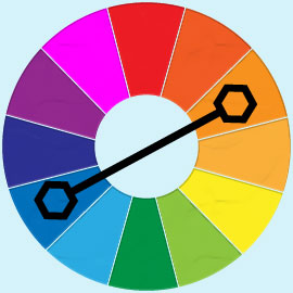Rules of colour matching for clothing and what looks good - Complementary colors to pink ...