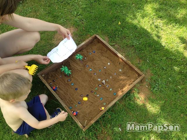 начинаем искать клад в песочнице