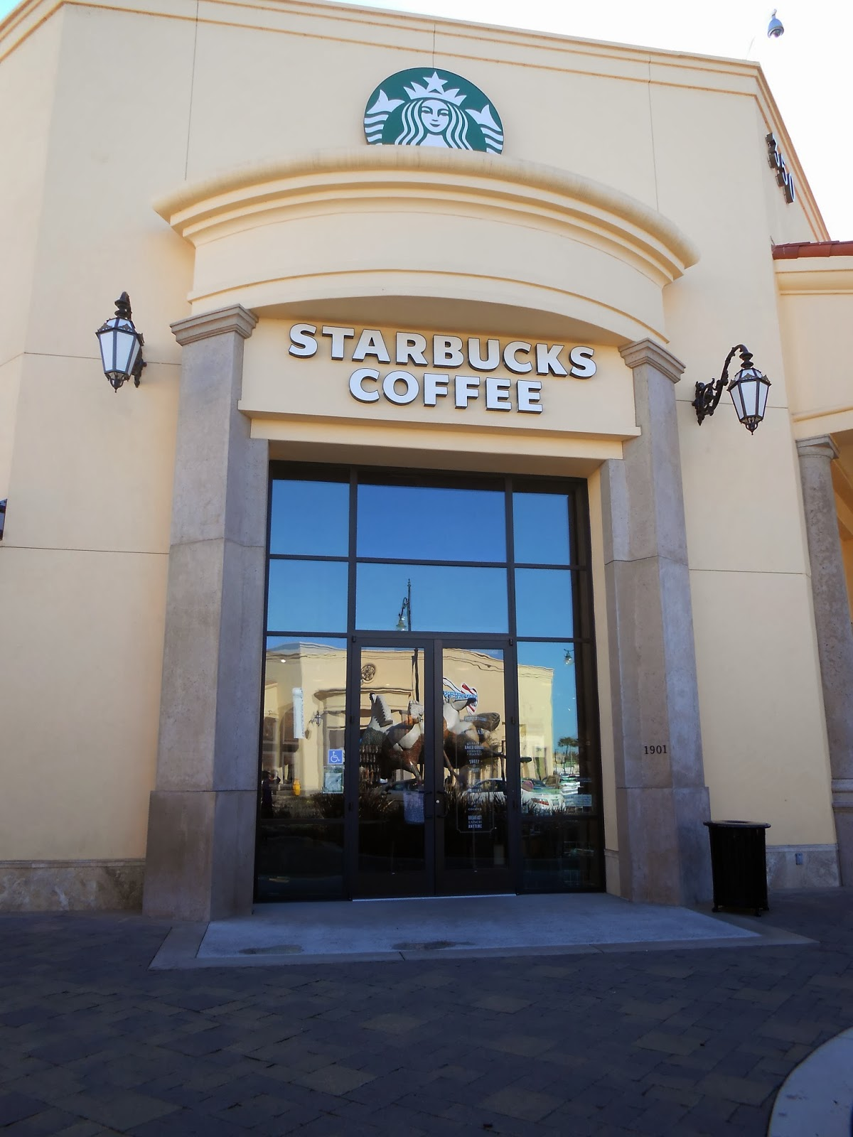 Haydens Business Blog Starbucks Coffee in the Palladio at