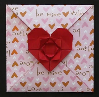 Valentine's Day Card - New Origami Model and Video