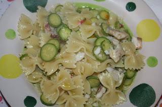 pasta triglie zucchine