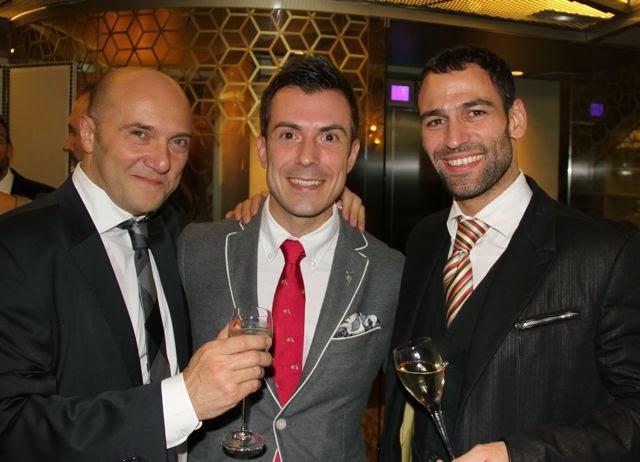 Esteban Capdevila, Alex Rodríguez Sánchez Pardo y Dario Barrio