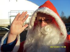 Joulupukkipalvelu Tampereen puhelin ja tekstari: 044-3380291