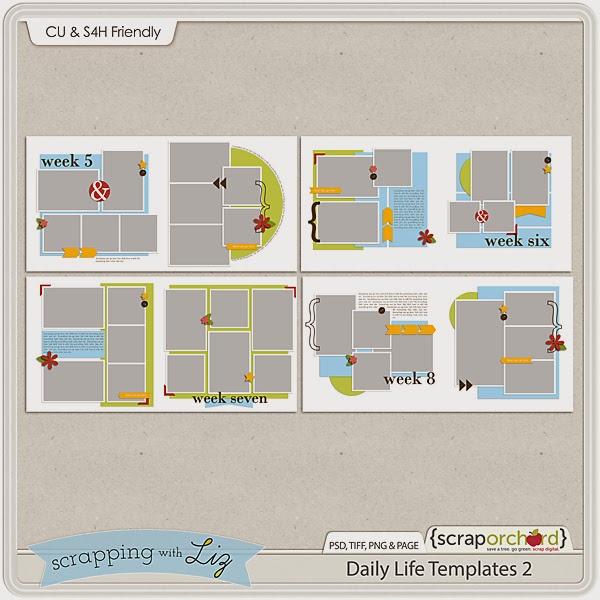 http://scraporchard.com/market/Daily-Life-2-Digital-Scrapbook-Templates.html