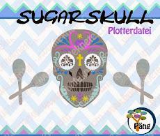 Plotterdatei Sugarskull