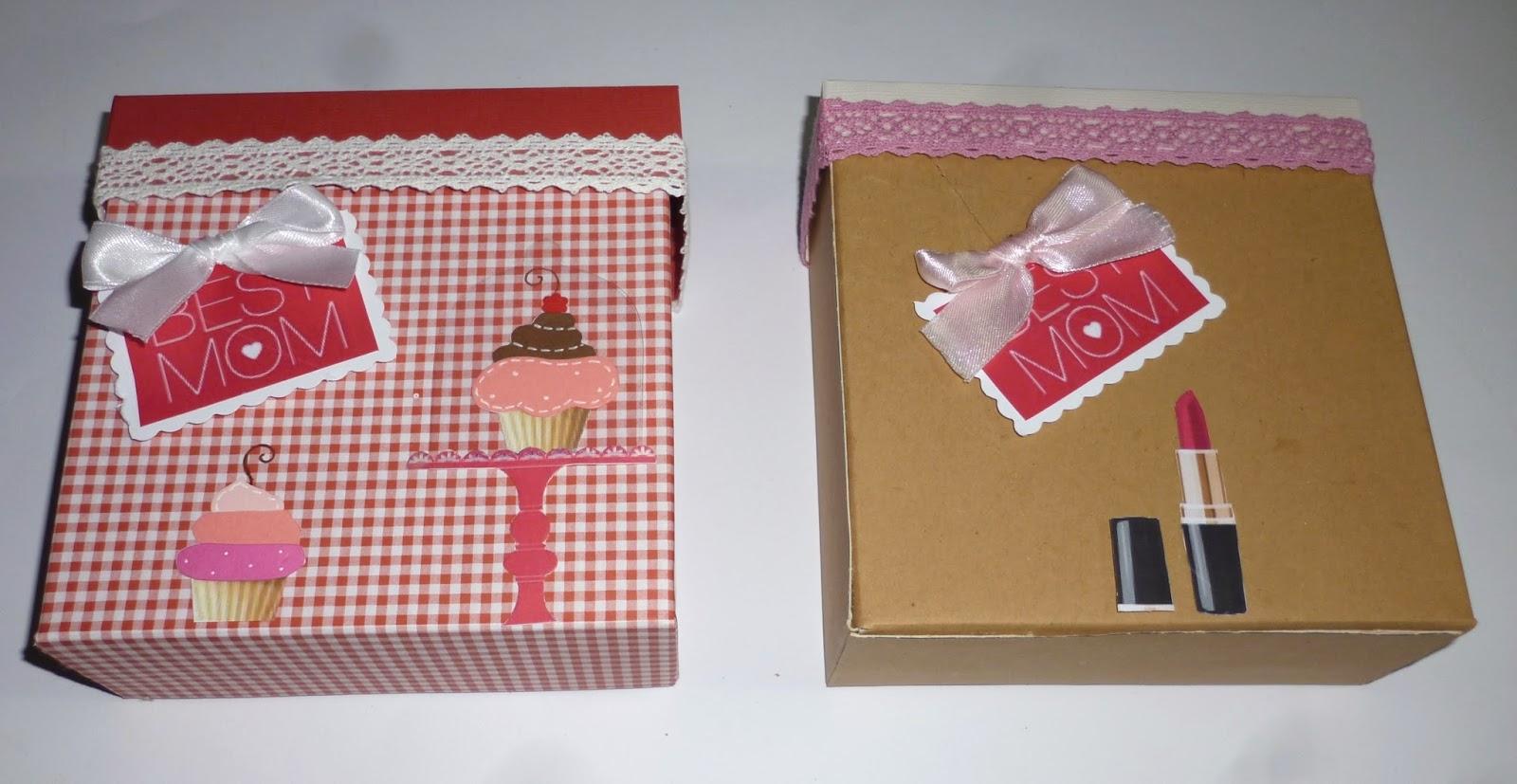 Estremamente cartoncino mio: Scatole decorate OH78