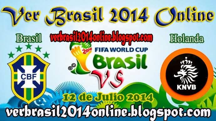 Brasil vs Holanda | Tercer Puesto - Mundial Brasil 2014